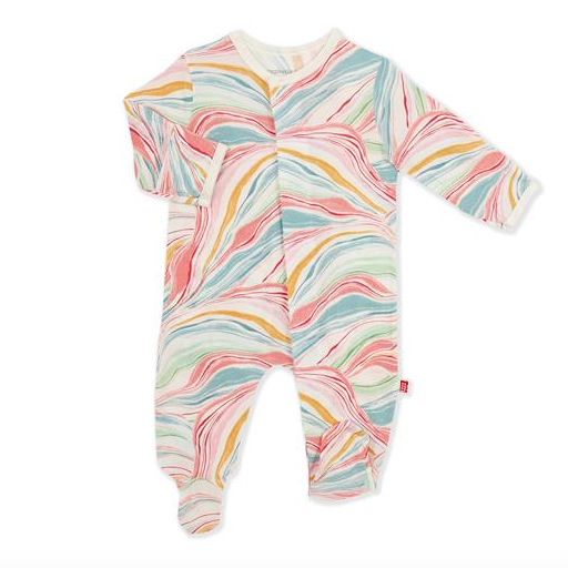 MAGNETIC ME TWIRLS AND SWIRLS MODAL MAGNETIC FOOTIE