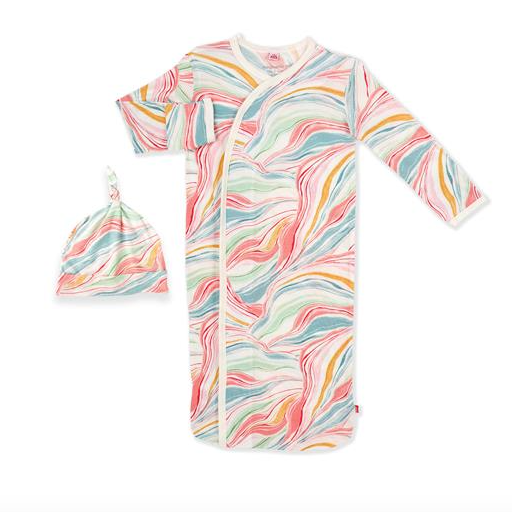 MAGNETIC ME TWIRLS AND SWIRLS MODAL MAGNETIC GOWN AND HAT SET