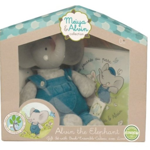 MEIYA & ALVIN MINI ALVIN THE ELEPHANT GIFT SET
