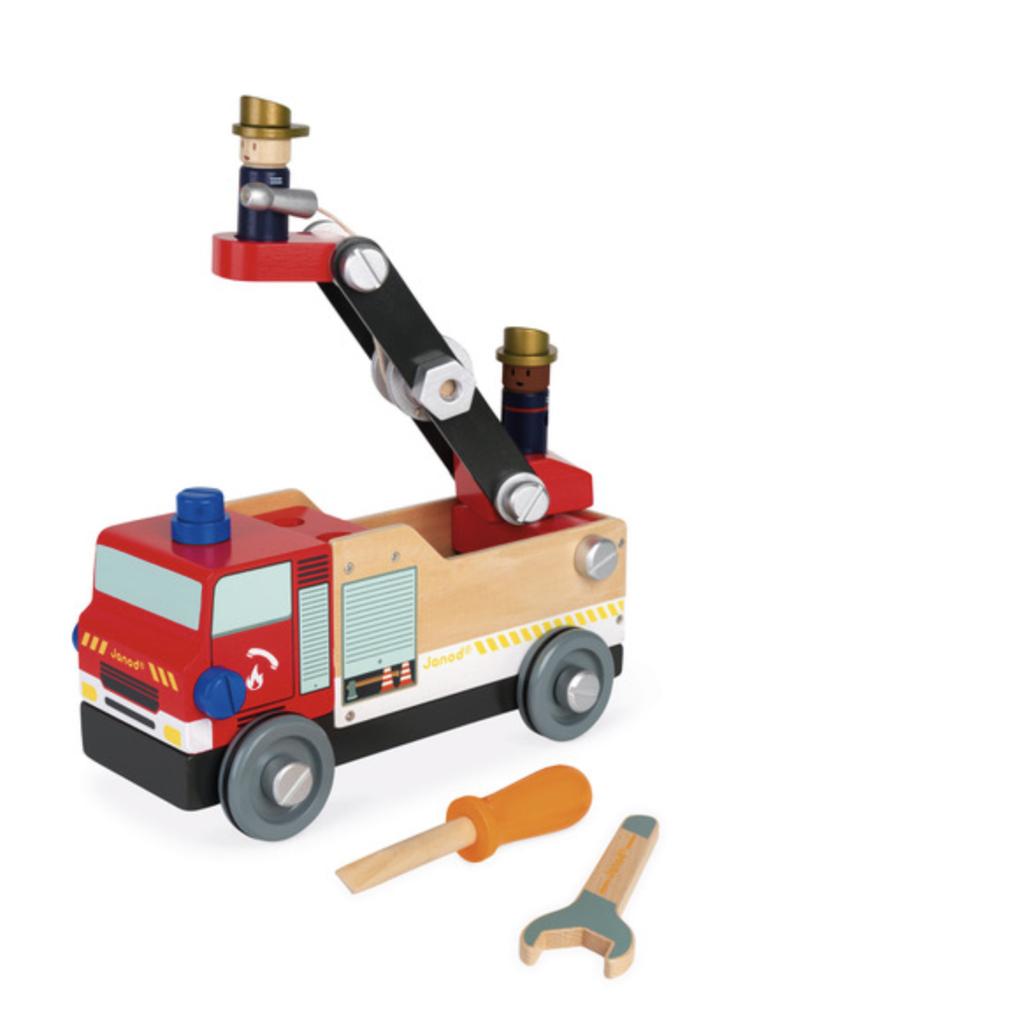 JANOD BRICO KIDS DIY FIRE TRUCK