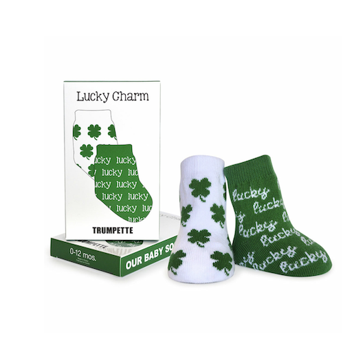 TRUMPETTE LUCKY CHARMS SOCKS 0-12M