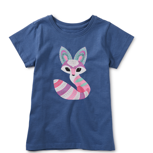 TEA DESERT FOX GRAPHIC TEE