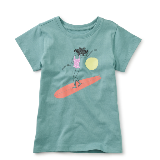 TEA LIZZY LIZZY GIRL SURFER GIRL TEE