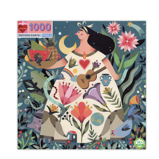 EEBOO MOTHER EARTH 1000PC SQUARE PUZZLE