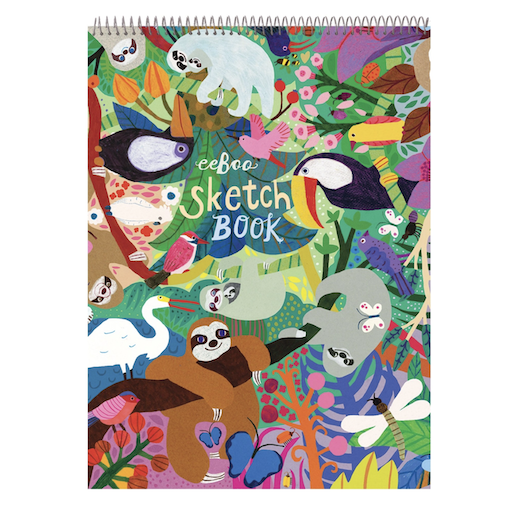 EEBOO SLOTHS SKETCHBOOK