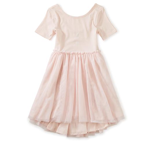 TEA TULLE SLEEVE BALLET DRESS