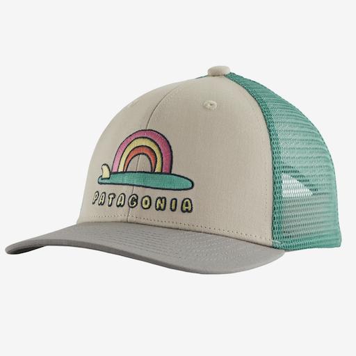 PATAGONIA KIDS TRUCKER HAT, PUMICE, O/S