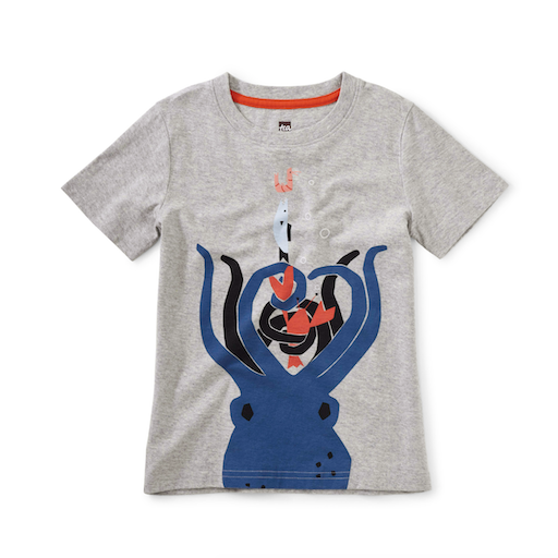 TEA 8 ARMS TO HOLD YOU GRAPHIC TEE