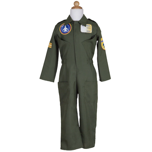 PILOT JUMPSUIT SET INCLUDING HELMET & ID BADGE