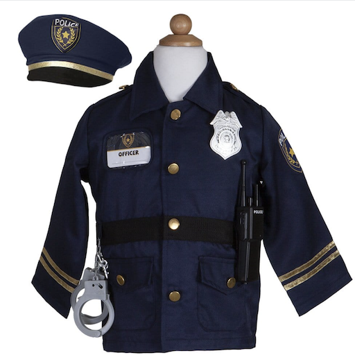 POLICE OFFICER WITH ACCESSORIES, 5-6