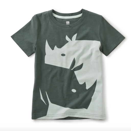 TEA RHINO GRAPHIC TEE