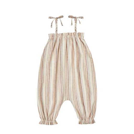 RYLEE AND CRU BUBBLE JUMPSUIT IN MULTISTRIPE