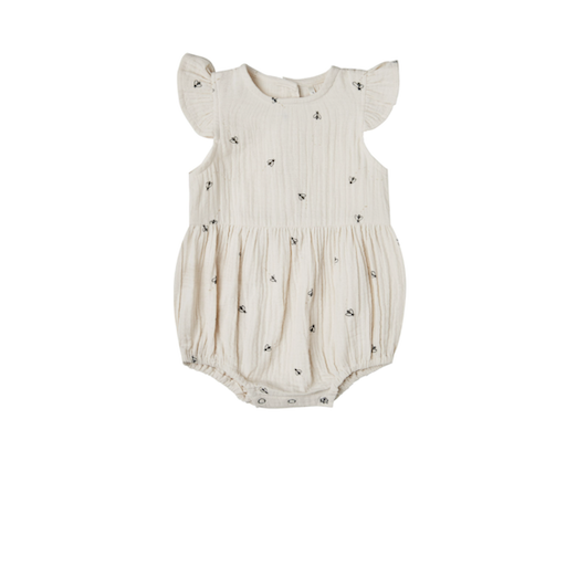 RYLEE AND CRU AMELIA ROMPER IN BEES