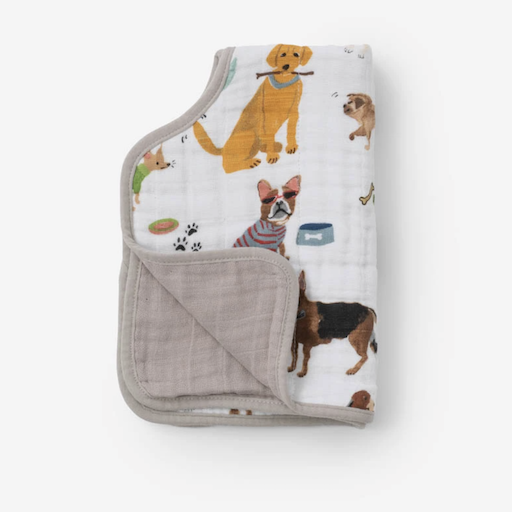LITTLE UNICORN COTTON MUSLIN BURP CLOTH