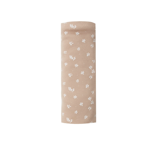 QUINCY MAE ORGANIC BRUSHED JERSEY SWADDLE IN BLOSSOM PETAL