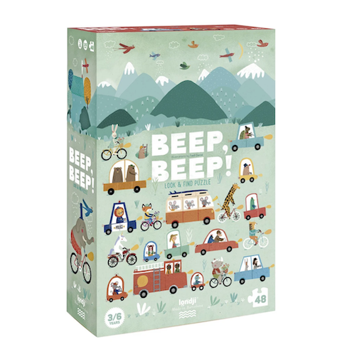 MAGIC FOREST LTD BEEP! BEEP! PUZZLE 48 PIECES