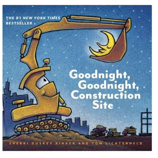 HACHETTE MUDPUPPY GOODNIGHT, GOODNIGHT CONSTRUCTION SITE BOARD BOOK