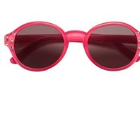 TEENY TINY OPTICS ROUND SUNGLASSES WITH CRYSTALS FOR TODDLERS