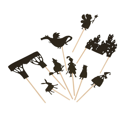MAGIC FOREST LTD ENCHANTED FOREST SHADOW PUPPETS SET