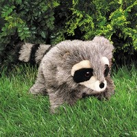 FOLKMANIS LITTLE RACCOON PUPPET