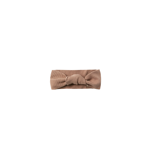 QUINCY MAE RIBBED BABY TURBAN