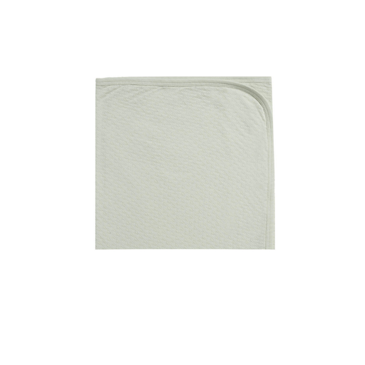 QUINCY MAE POINTELLE BABY BLANKET IN MINT