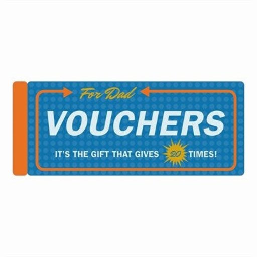 KNOCK KNOCK DAD VOUCHERS