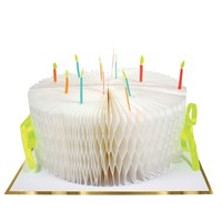 MERI MERI BIRTHDAY CAKE HONEYCOMB GREETING CARD
