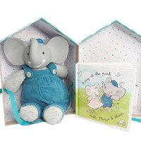 CREATIVE EDUCATION OF CANADA ALVIN THE ELEPHANT DELUXE GIFT SET