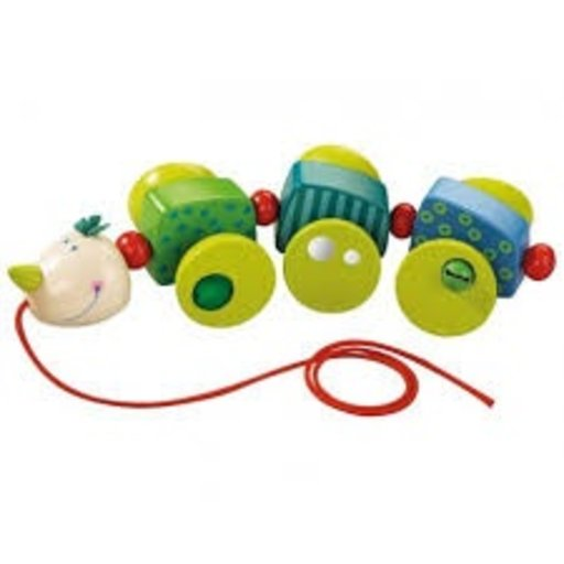 HABA CORY CATERPILLAR PULL TOY