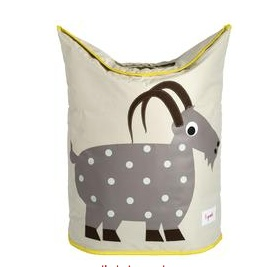 3 SPROUTS 3 SPROUTS GOAT LAUNDRY HAMPER
