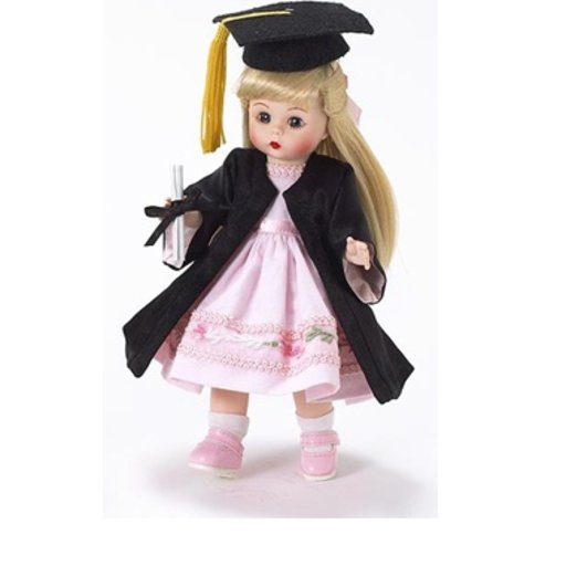 ALEXANDER DOLL COMPANY INC. BLONDE GRADUATION DAY DOLL