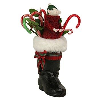 BYERS MOUSE IN CHRISTMAS BOOT