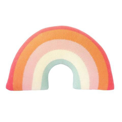 BLABLA BLA BLA RAINBOW PINK PILLOW