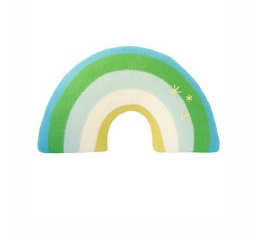 BLABLA BLA BLA RAINBOW BLUE PILLOW
