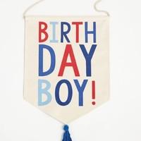 MUD PIE BIRTHDAY BOY BANNER