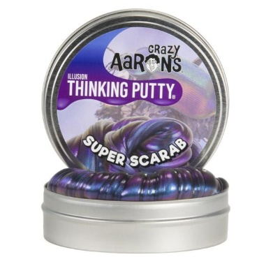"CRAZY AARON CRAZY AARON'S 4"" SUPER SCARAB THINKING PUTTY"