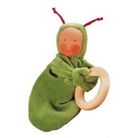 KATHE KRUSE GREEN RAINBOW BABY