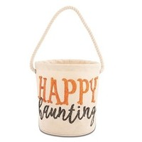 MUD PIE HALLOWEEN DAZZLE CANVAS TOTE