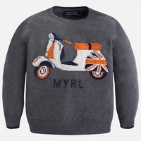MAYORAL USA SCOOTER SWEATER