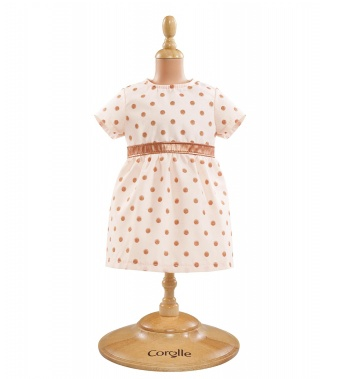 COROLLE COROLLE PINK GOLD DRESS