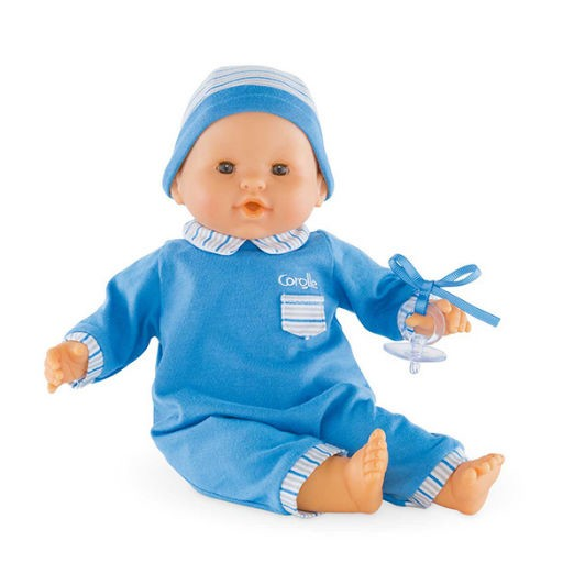COROLLE MON BEBE CLASSIC BLUE BABY DOLL