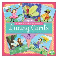 EEBOO FAIRIES OF THE FIELD LACING CARDS