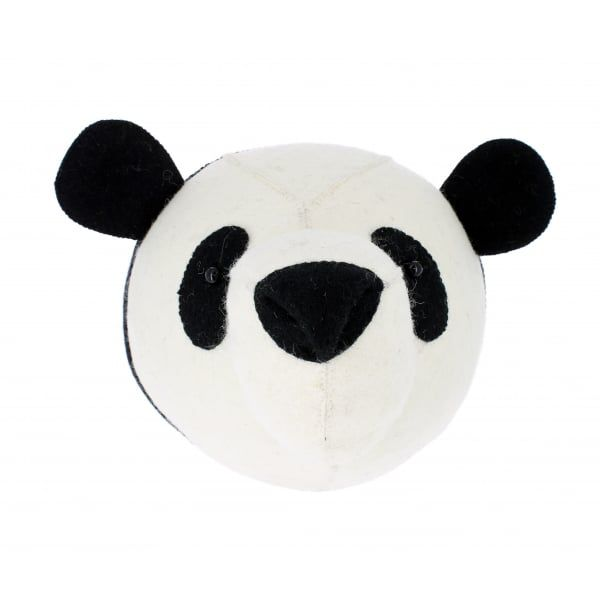 FIONA WALKER FIONA WALKER ENGLAND PANDA HEAD WALL DECOR