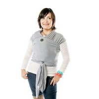 MOBY MOBY WRAP BAMBOO-GREY STRIPE