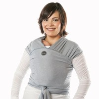 MOBY MOBY WRAP EVOLUTION-DENIM WHITE STRIPES