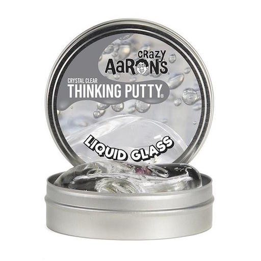 "CRAZY AARON CRAZY AARON'S 4"" LIQUID GLASS THINKING PUTTY"