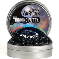 """CRAZY AARON CRAZY AARON'S 4"""" STAR DUST THINKING PUTTY"""