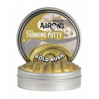 """CRAZY AARON CRAZY AARON'S 4"""" GOLD RUSH THINKING PUTTY"""