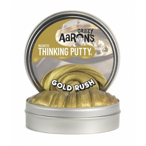 "CRAZY AARON CRAZY AARON'S 4"" GOLD RUSH THINKING PUTTY"
